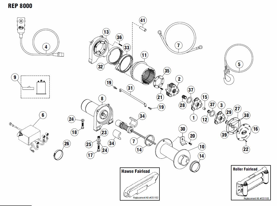 diagrams wiring   ramsey hydraulic winch parts